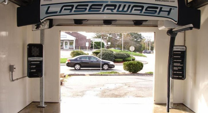 Laserwash car wash